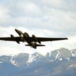 U-2 takes off