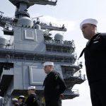 USS Gerald R Ford - Man's The Rails