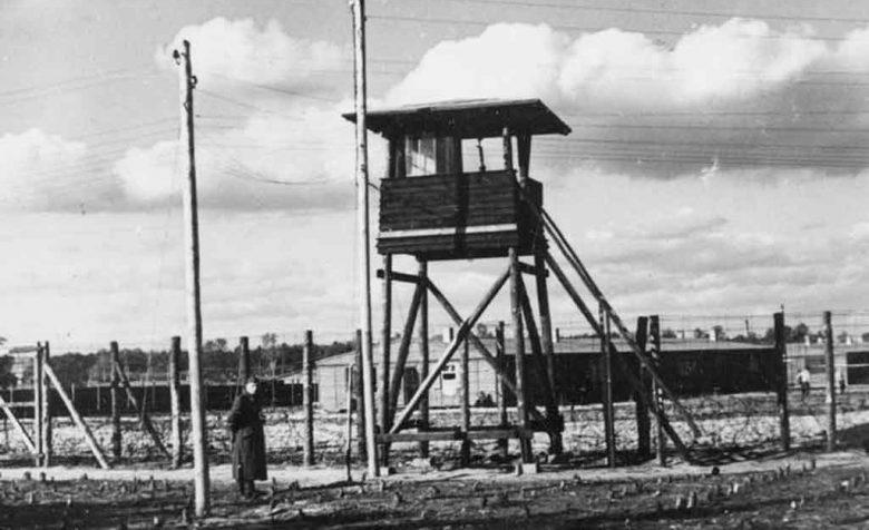 Watch tower at Stalag Luft III