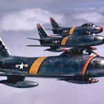 F-86 Sabres over Korea