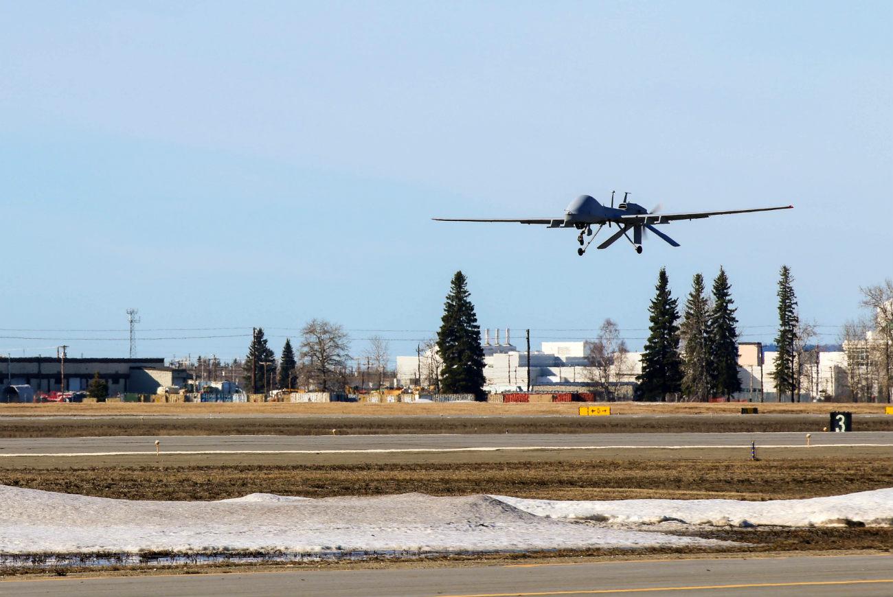 MQ-1C Gray Eagle - Take off