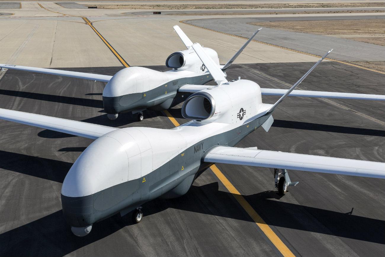 MQ-4C Triton - On the flight path