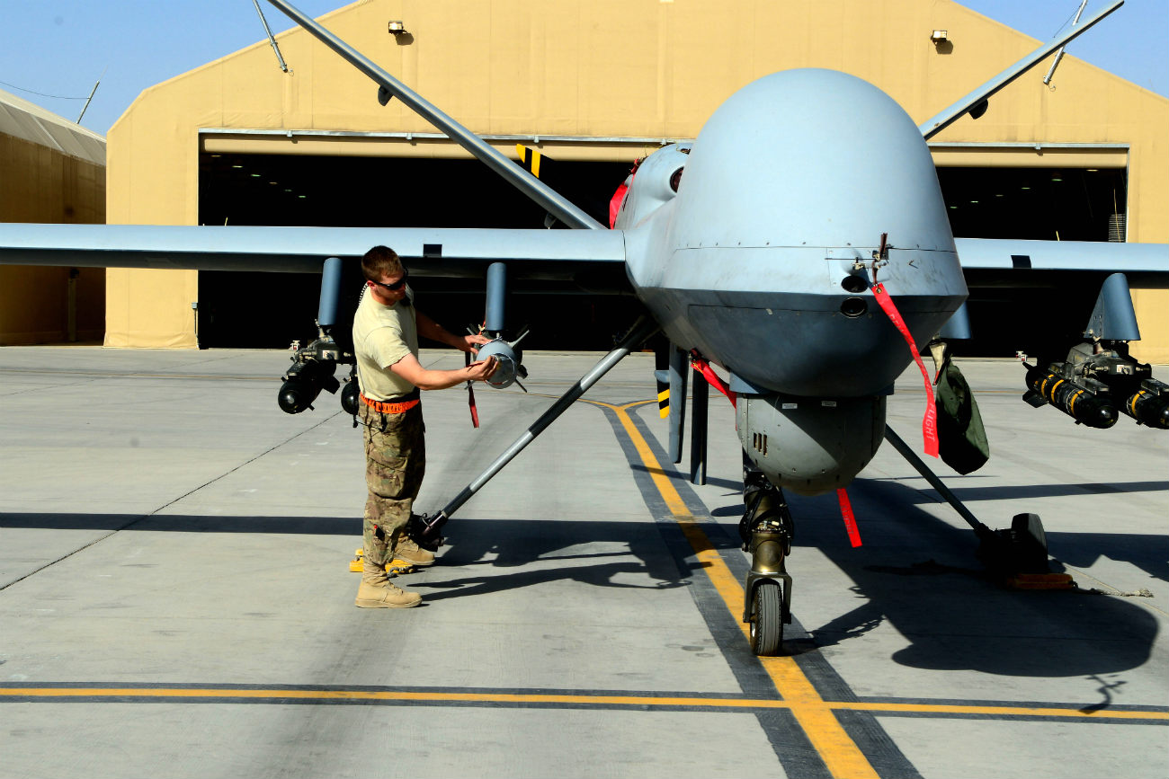 MQ-9 Reaper - Pre-flight check-up