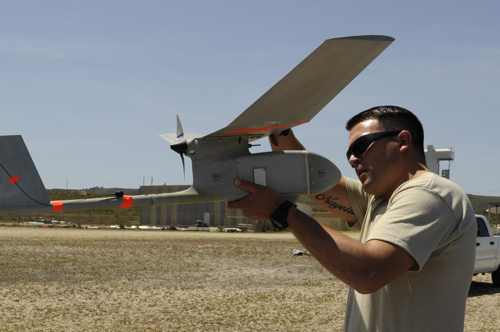 RQ-11 Raven - Pre-flight check-up
