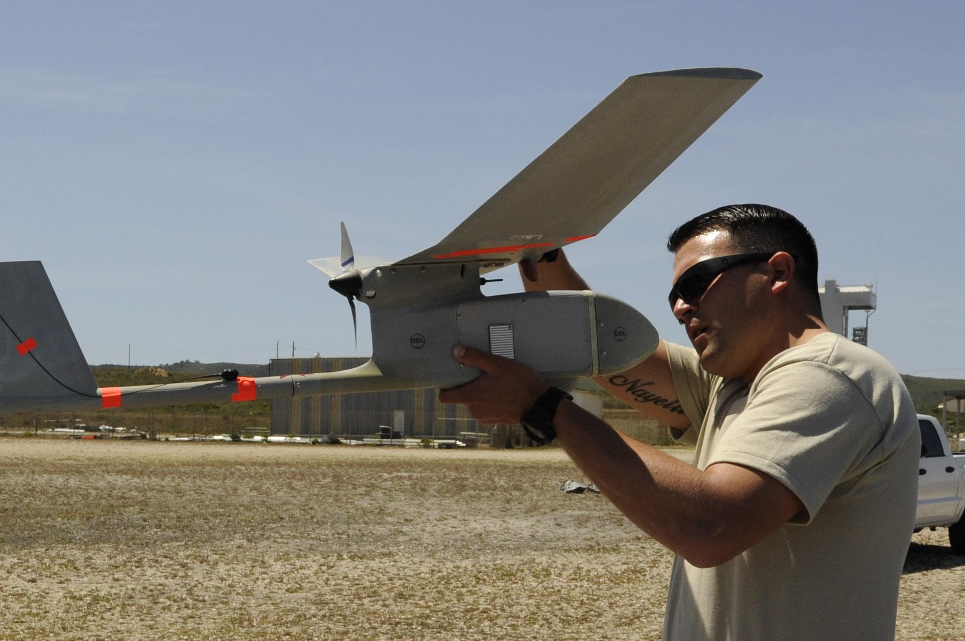 RQ-11 Raven - Pre-flight check-up