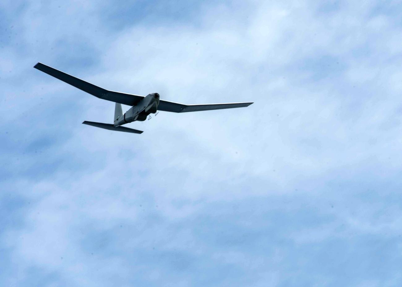 RQ-20 Puma - Flying overhead