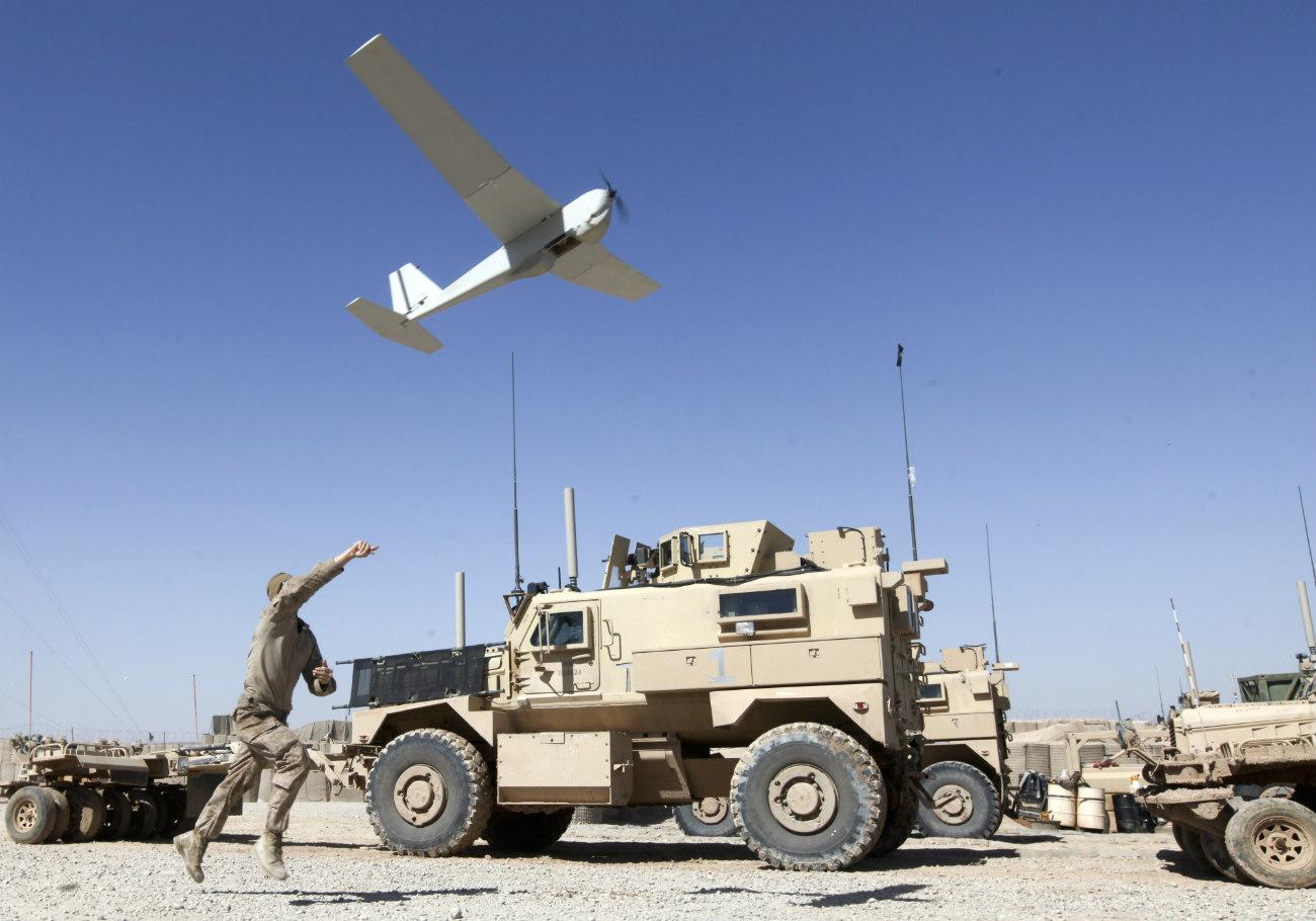 RQ-20 Puma - Take off