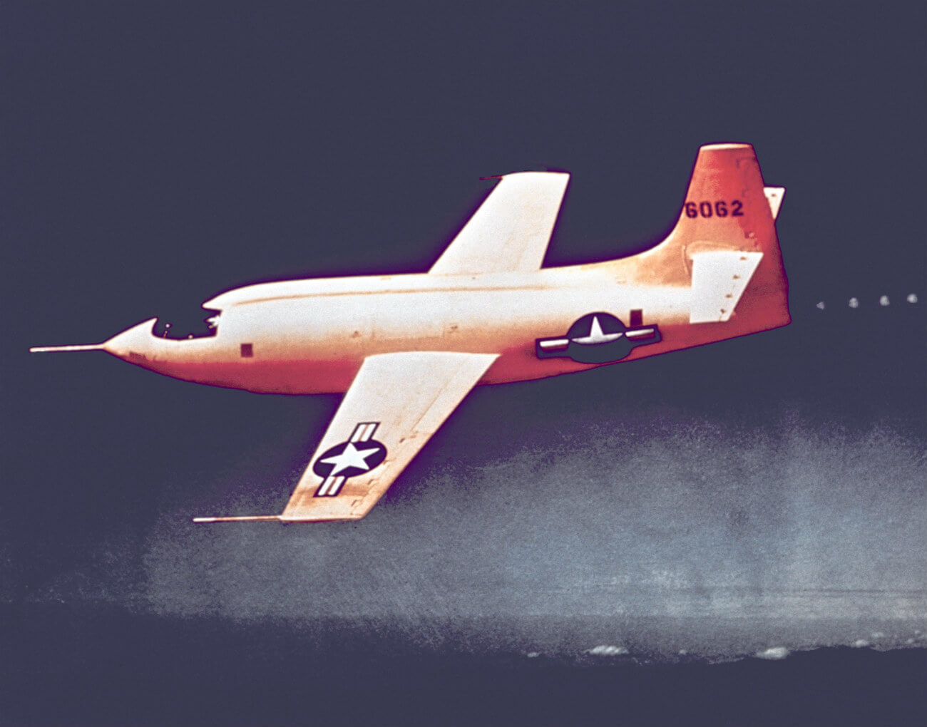NASA Experimental Aircraft Images - Bell X-1 cruising altitude