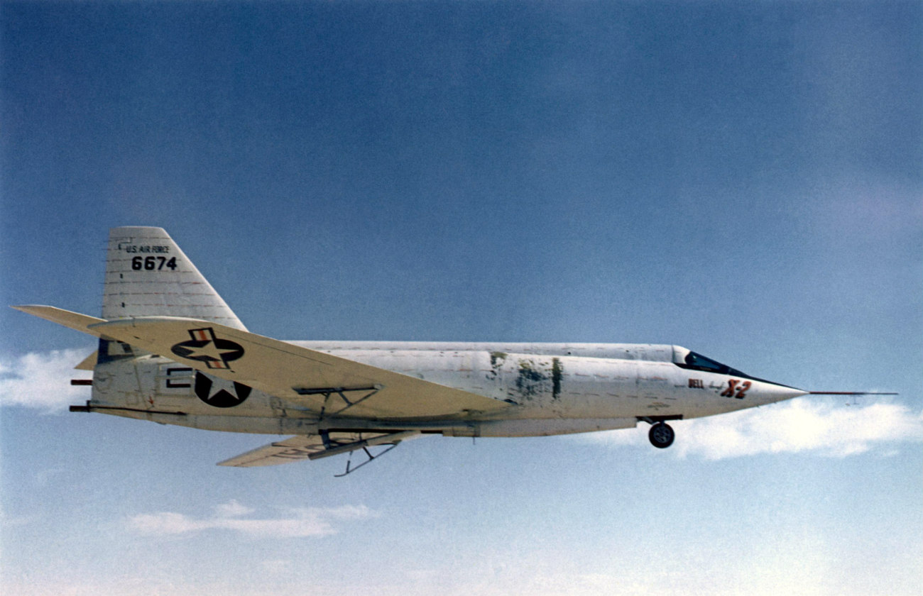 Bell X-2 Starbuster cruising altitude