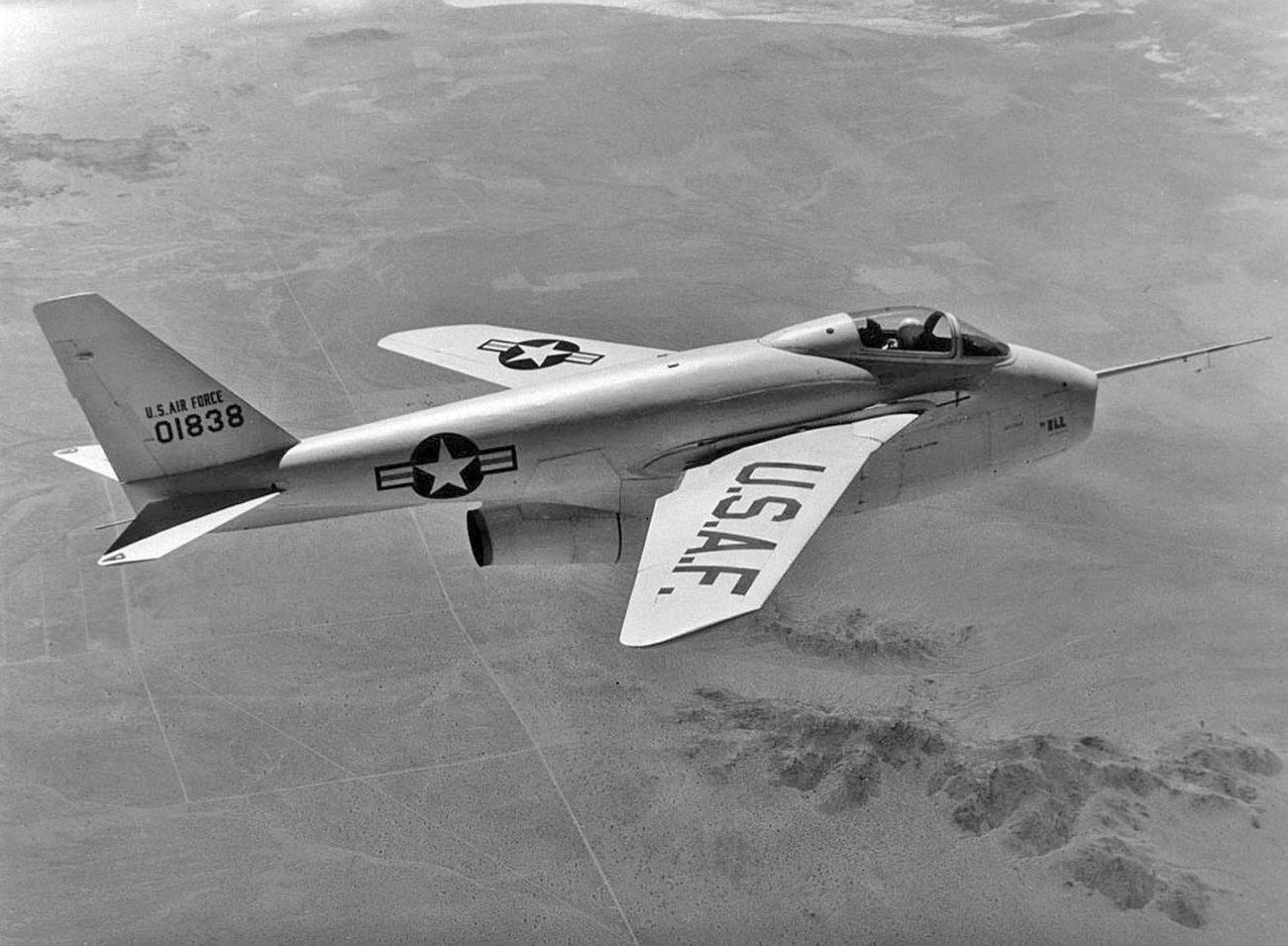 Bell X-5 cruising altitude