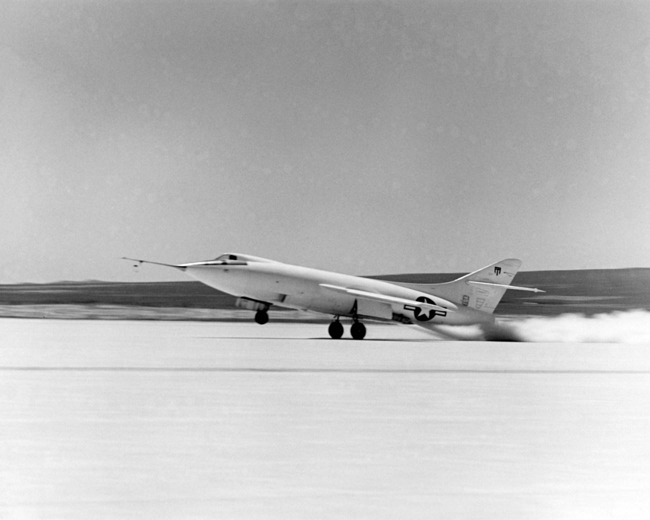 Douglas D-558-II Skyrocket taking off