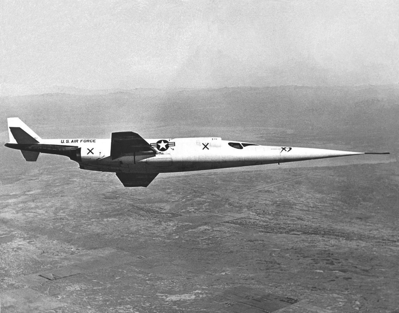 Douglas X-3 Stiletto cruising altitude