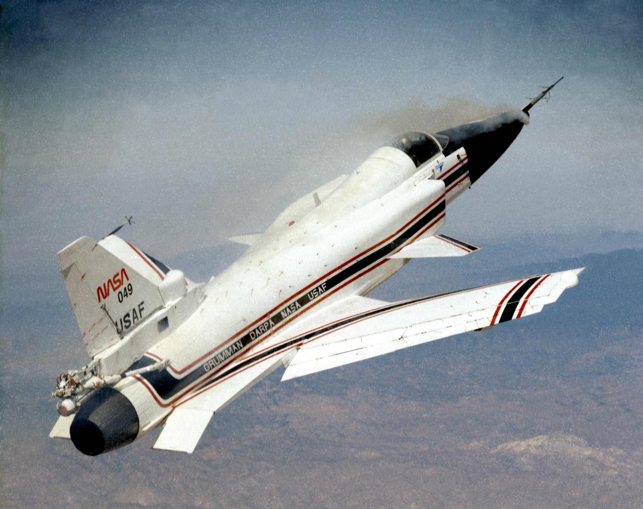 Grumman X-29 cruising altitude