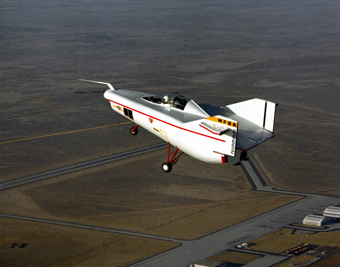 M2-F1 Lifting Body under tow