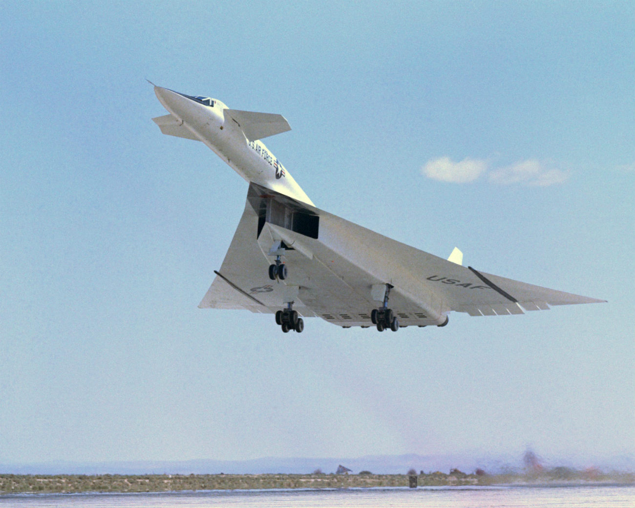 North American Aviation XB-70 Valkyrie cruising altitude
