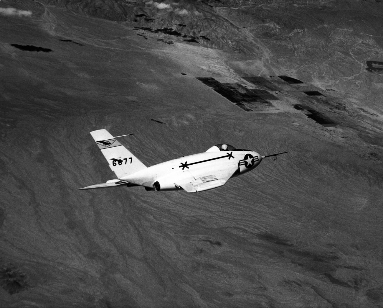 Northrop X-4 Bantam cruising altitude