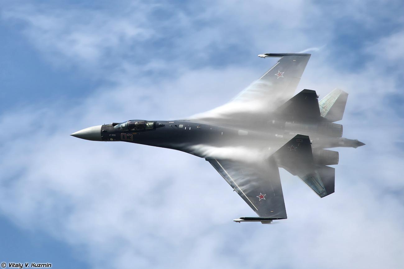 Su-35S cruising altitude