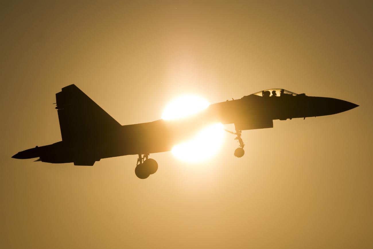 Su-35S silhouette