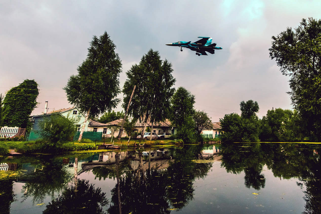Sukhoi Su-34 final approach