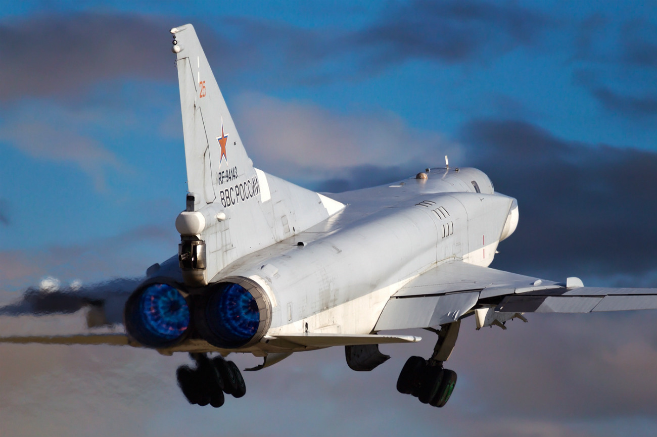 Tu-22M-3 take off