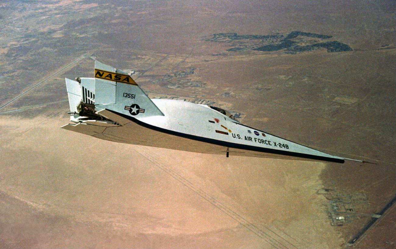 X-24B Lifting Body cruising altitude