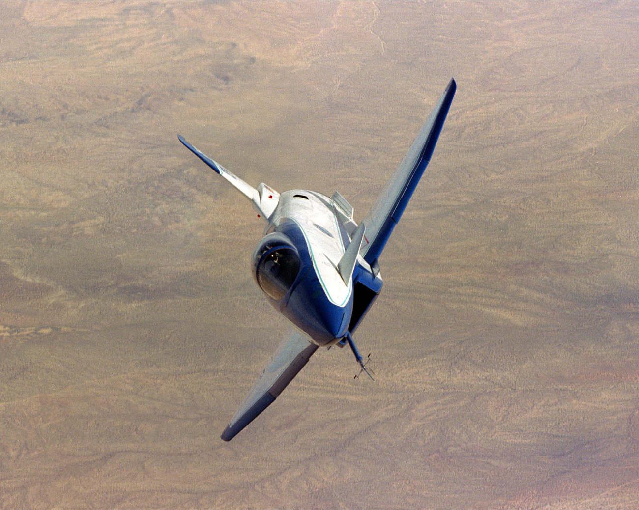 X-31 cruising altitude