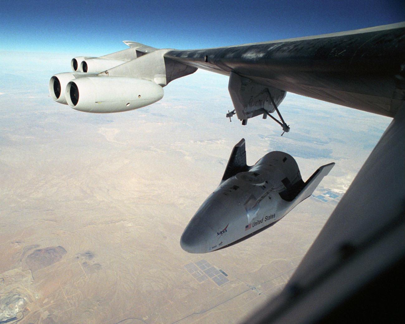 X-38 Crew Return Vehicle cruising altitude