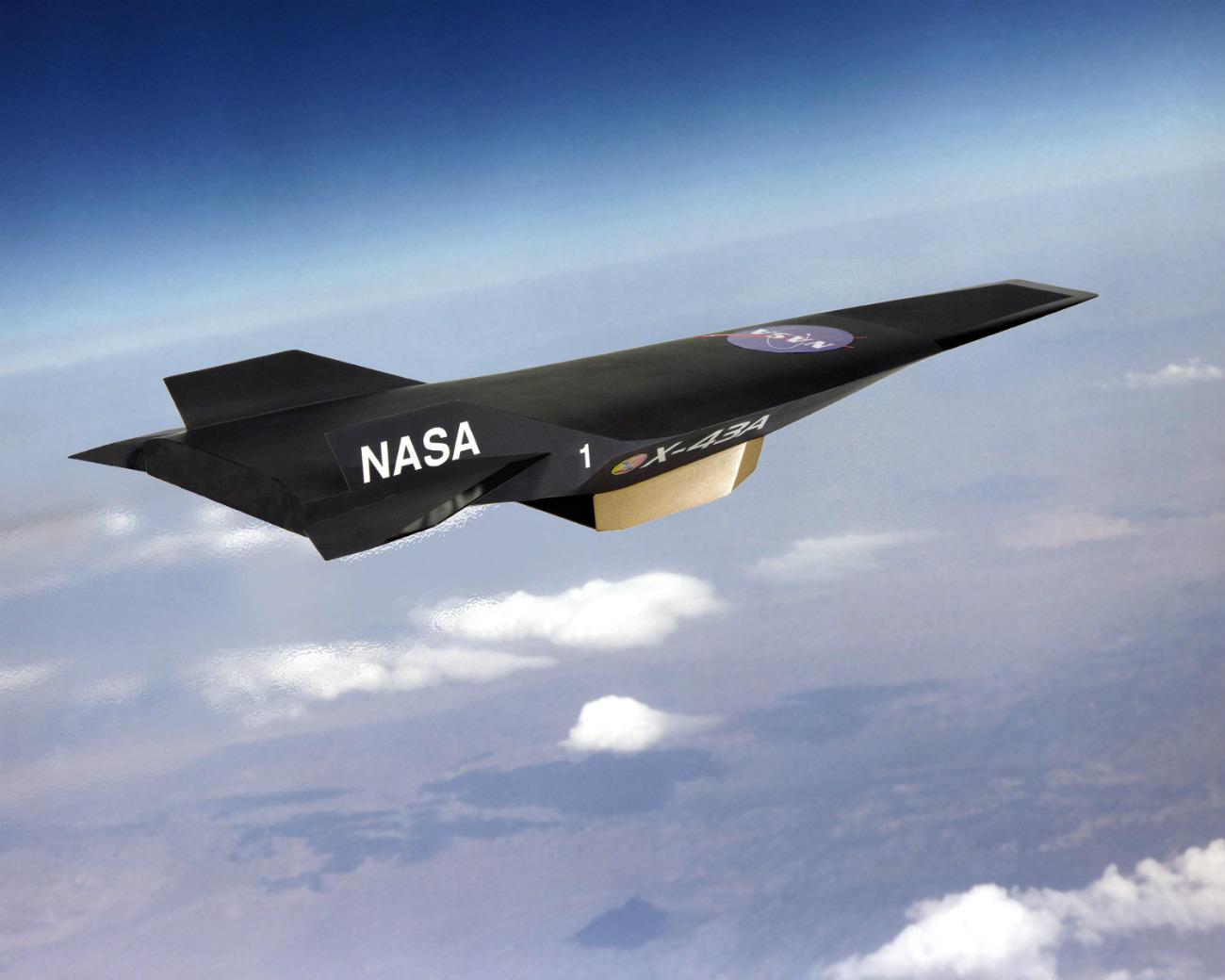 X-43A Hyper-X cruising altitude
