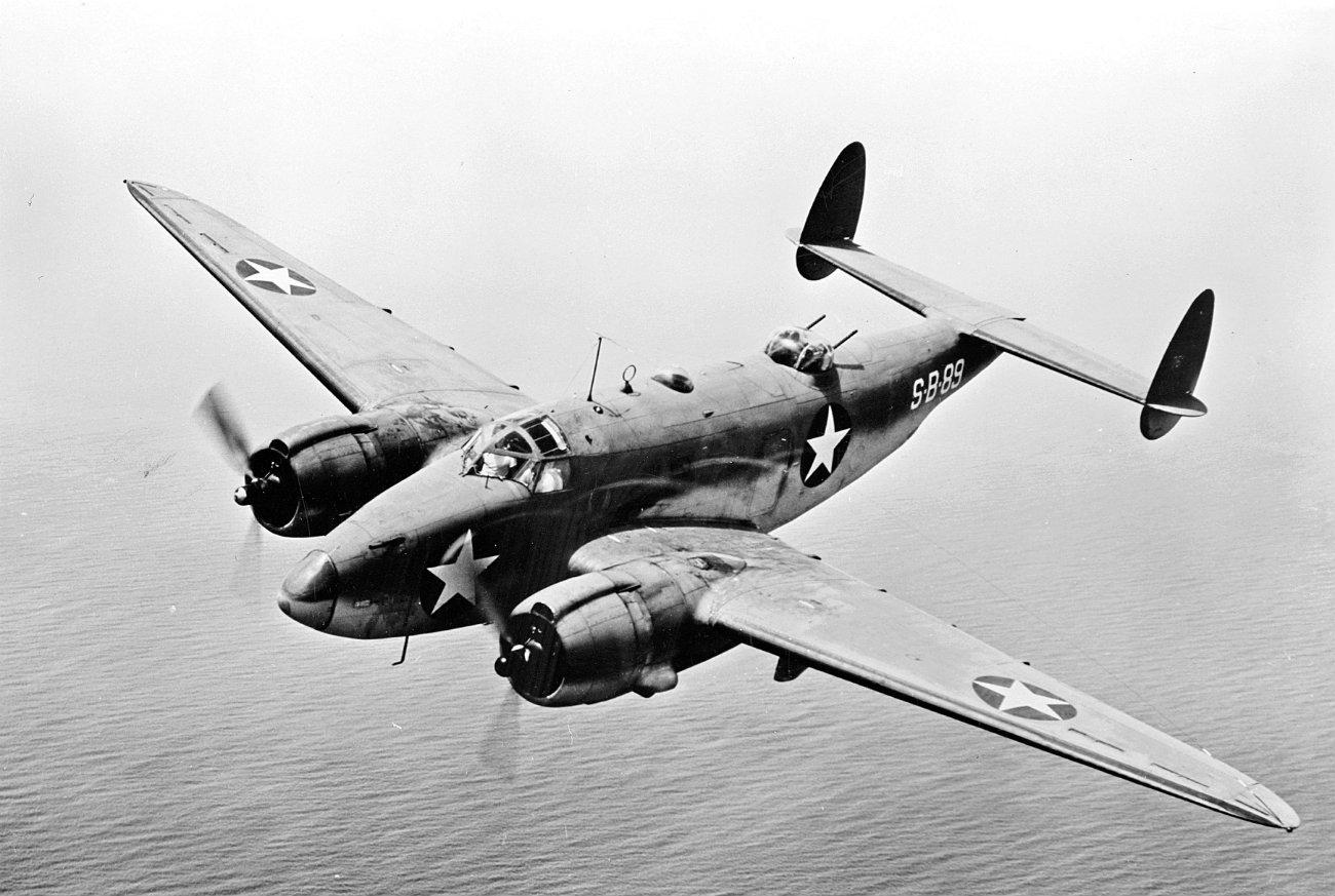 PV-1 Ventura cruising altitude