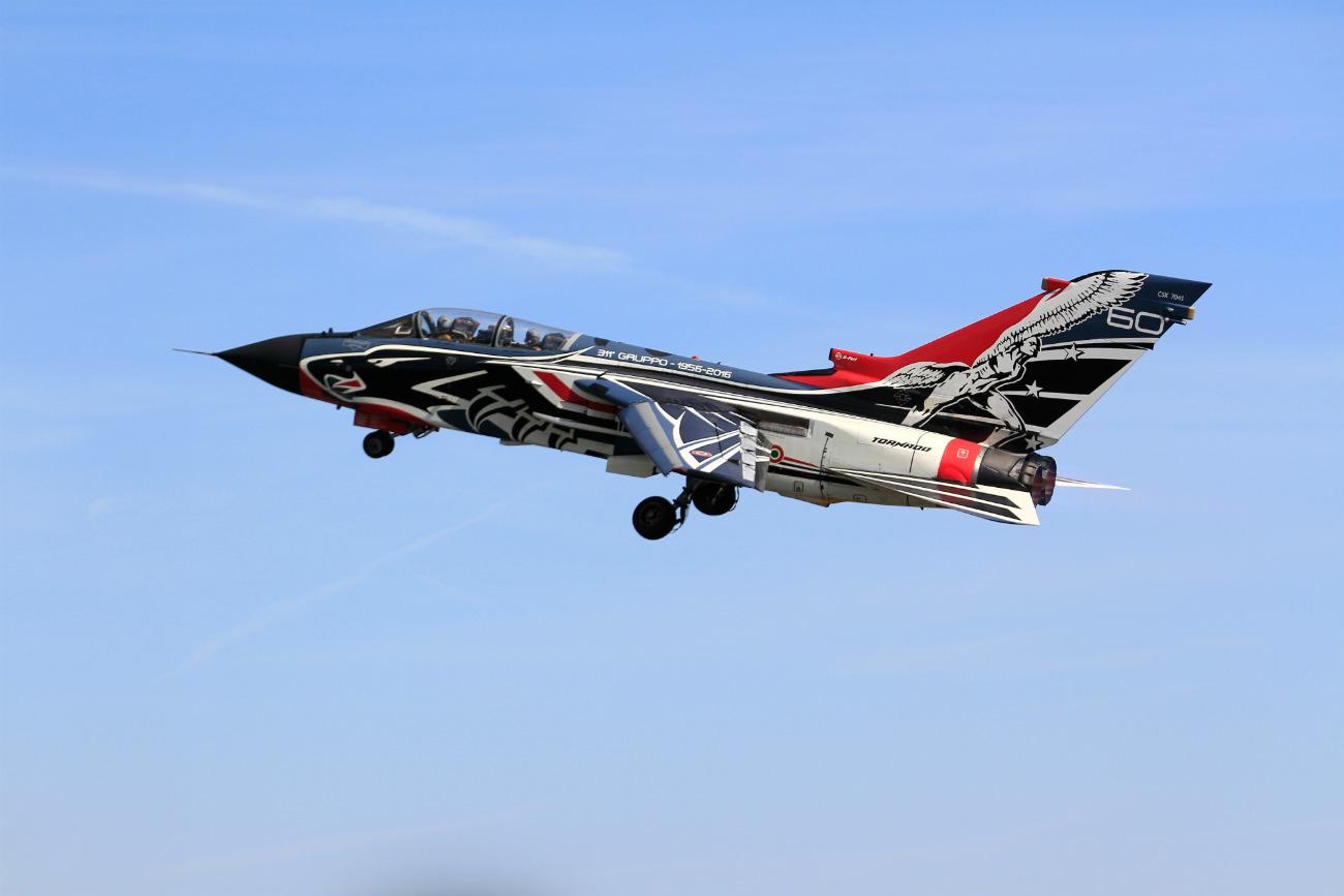 Captivating Images of Panavia Tornado cruising altitude