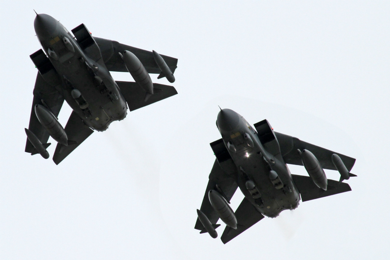 Captivating Images of Panavia Tornado in formation
