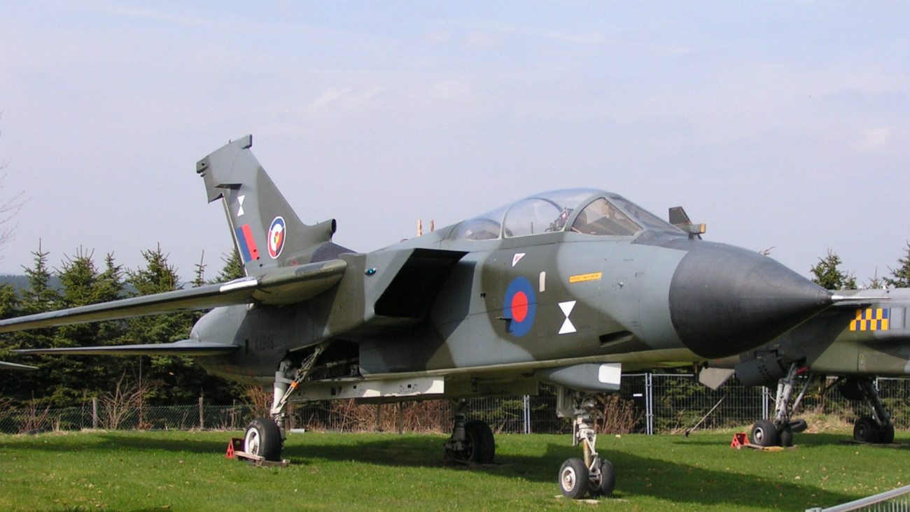 Captivating Images of Panavia Tornado on display
