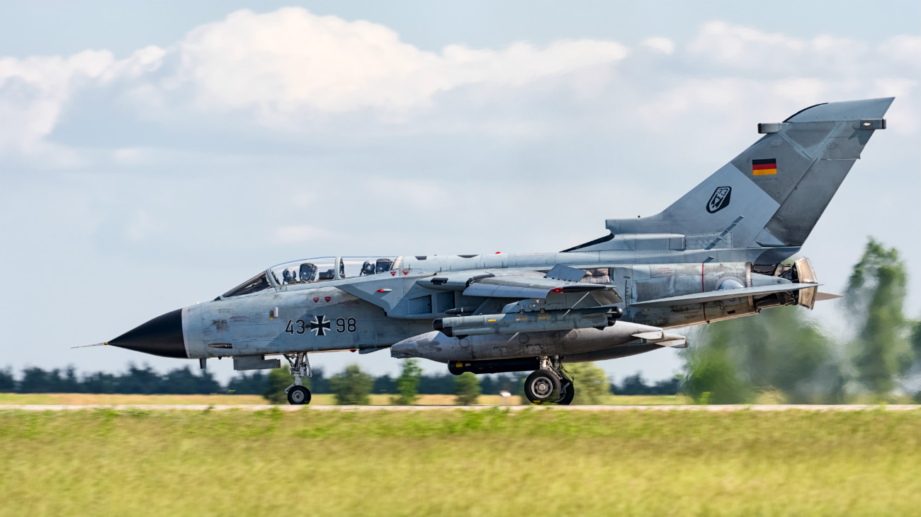 Captivating Images of Panavia Tornado on the flight path