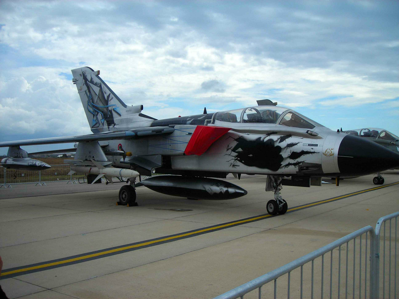 Captivating Images of Panavia Tornado parked
