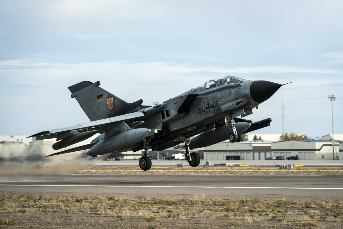 Captivating Images of Panavia Tornado taking off