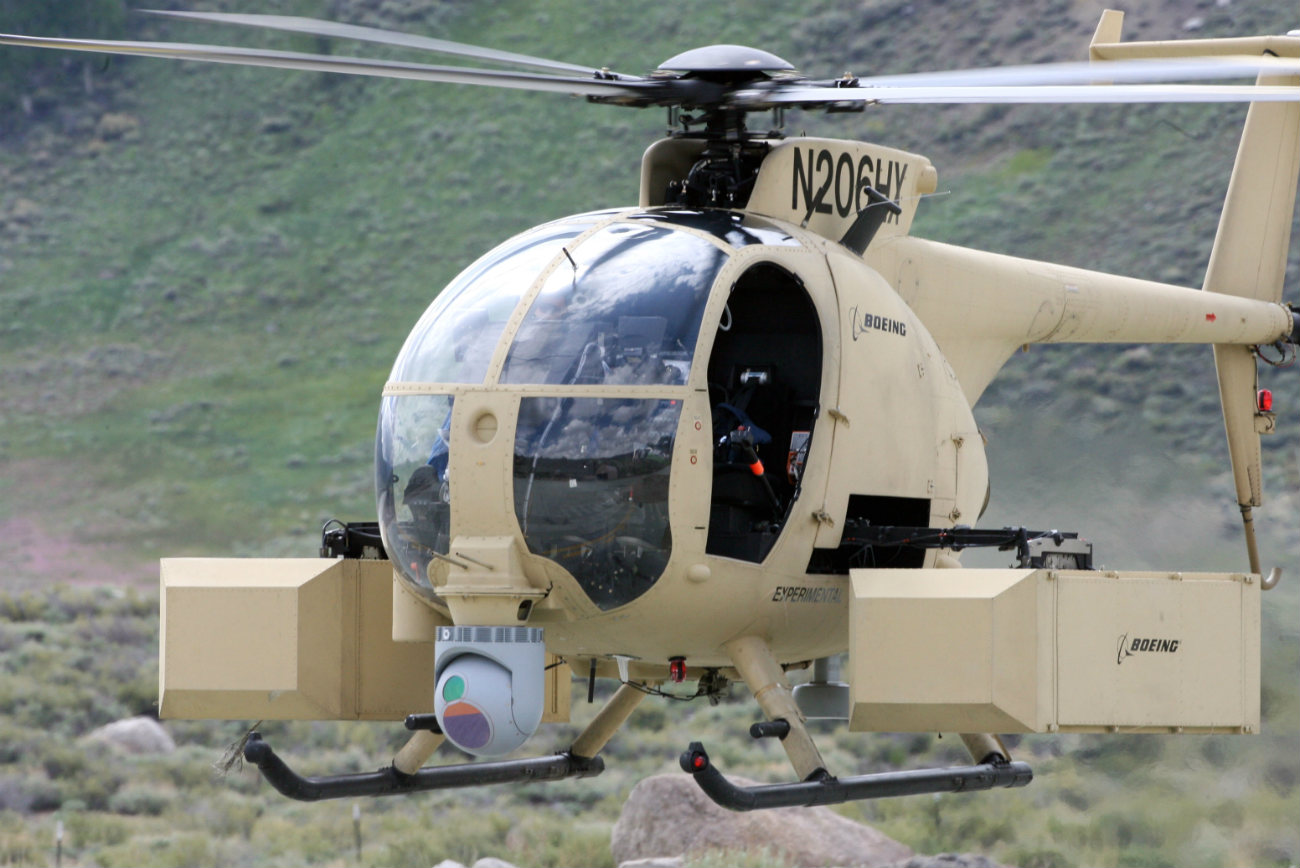 MH-6 Little Bird unmanned