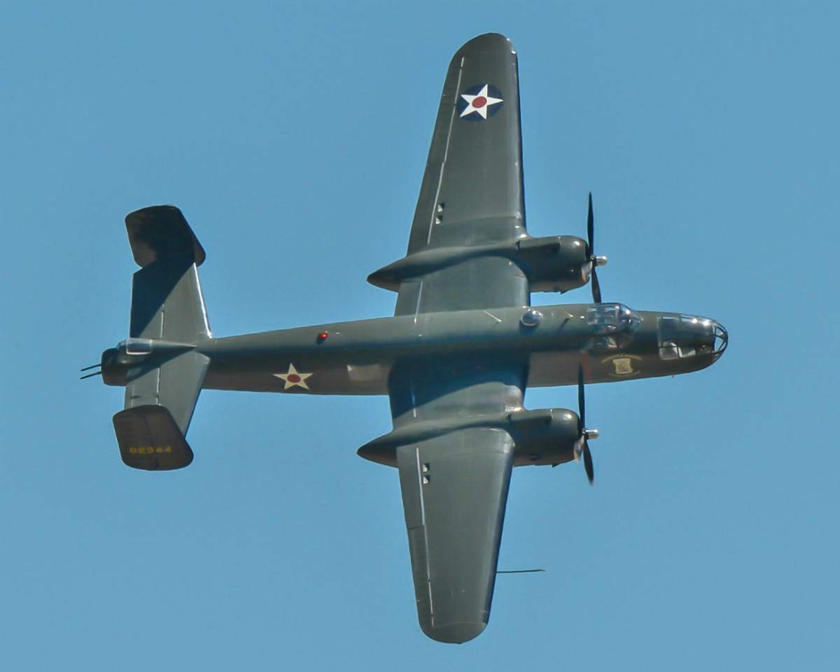 B-25 during Barksdale AFB Airshow