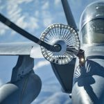 EA-18G during refueling