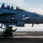 EA-18G prepares for launch