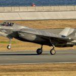 F-35 during landing