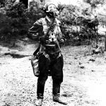 Korean defector in flight suit