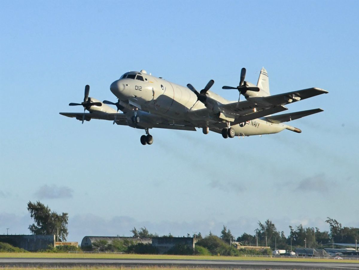 P-3 Orion taking off