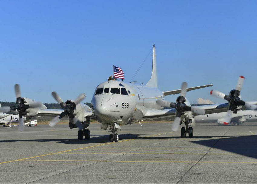 U S Navy P 3 Orion Operations In Support Of Enic Armed Forces