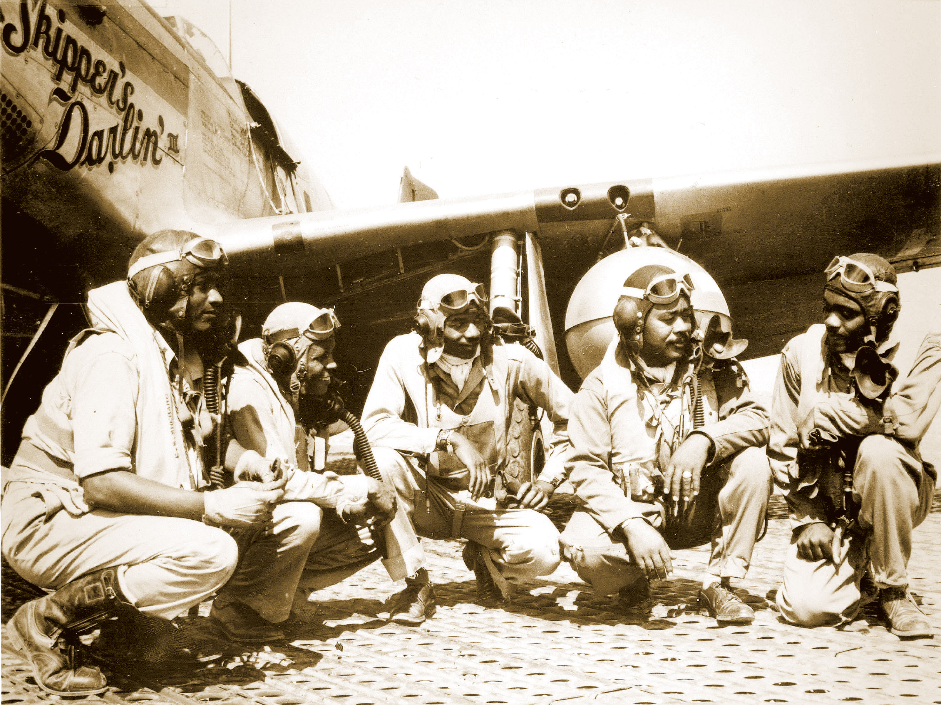 332nd Fighter Group in Italy