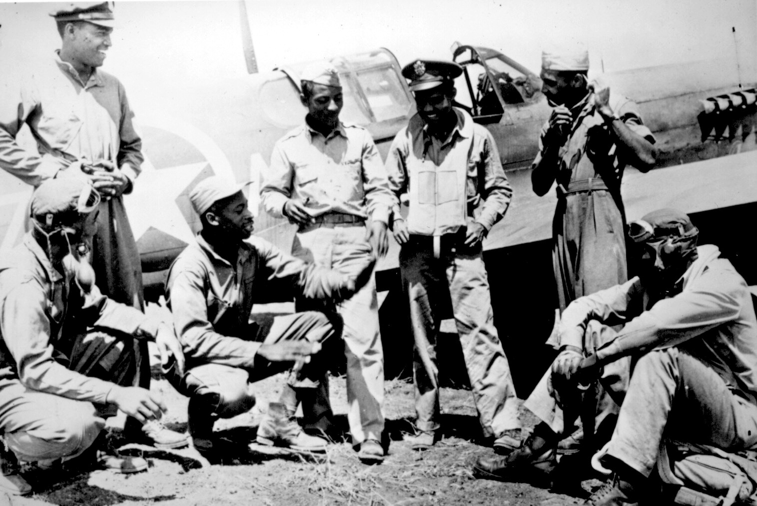 Tuskegee Airmen After Action in Italy
