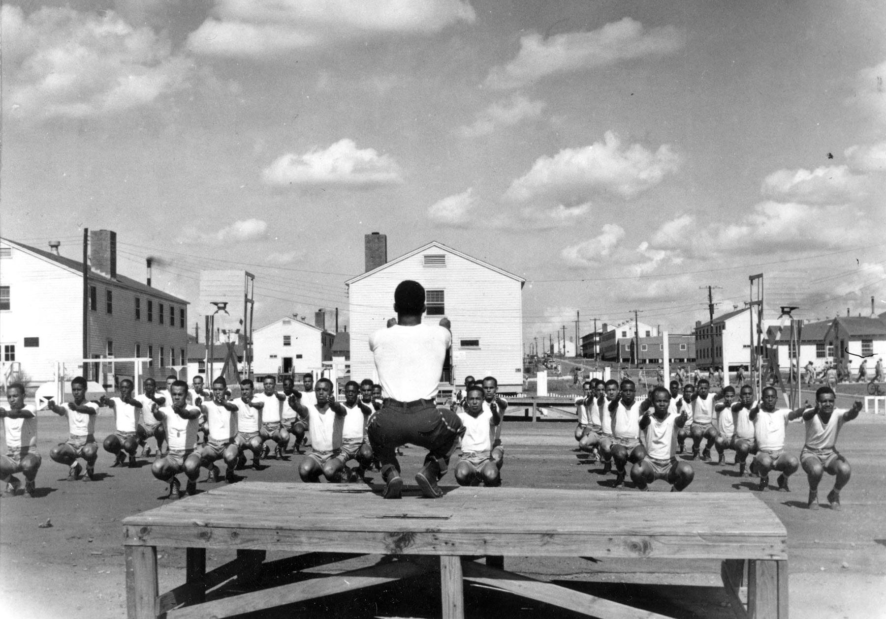 Tuskegee Airmen Physical Training