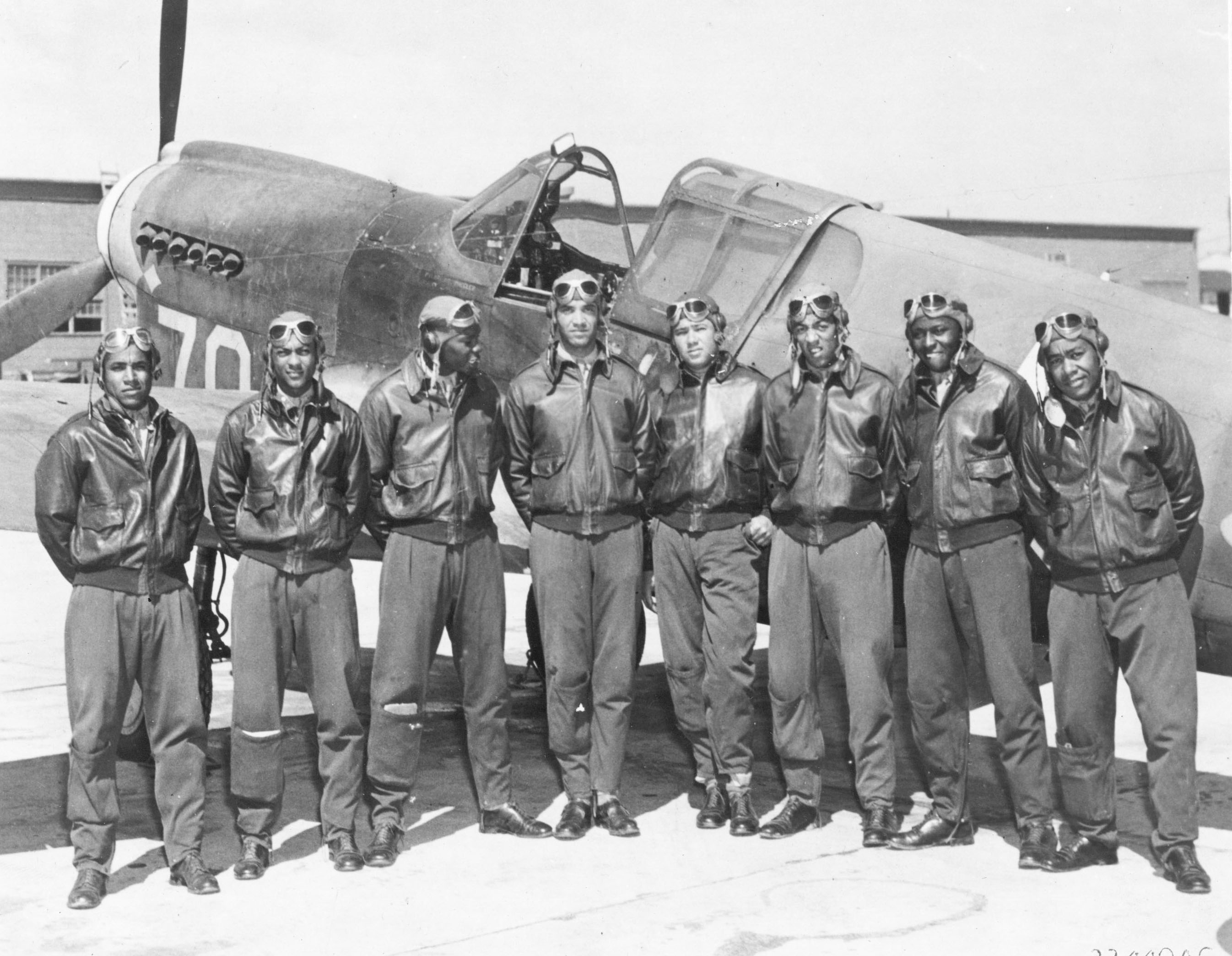 The Tuskegee Airmen P-51 Mustang