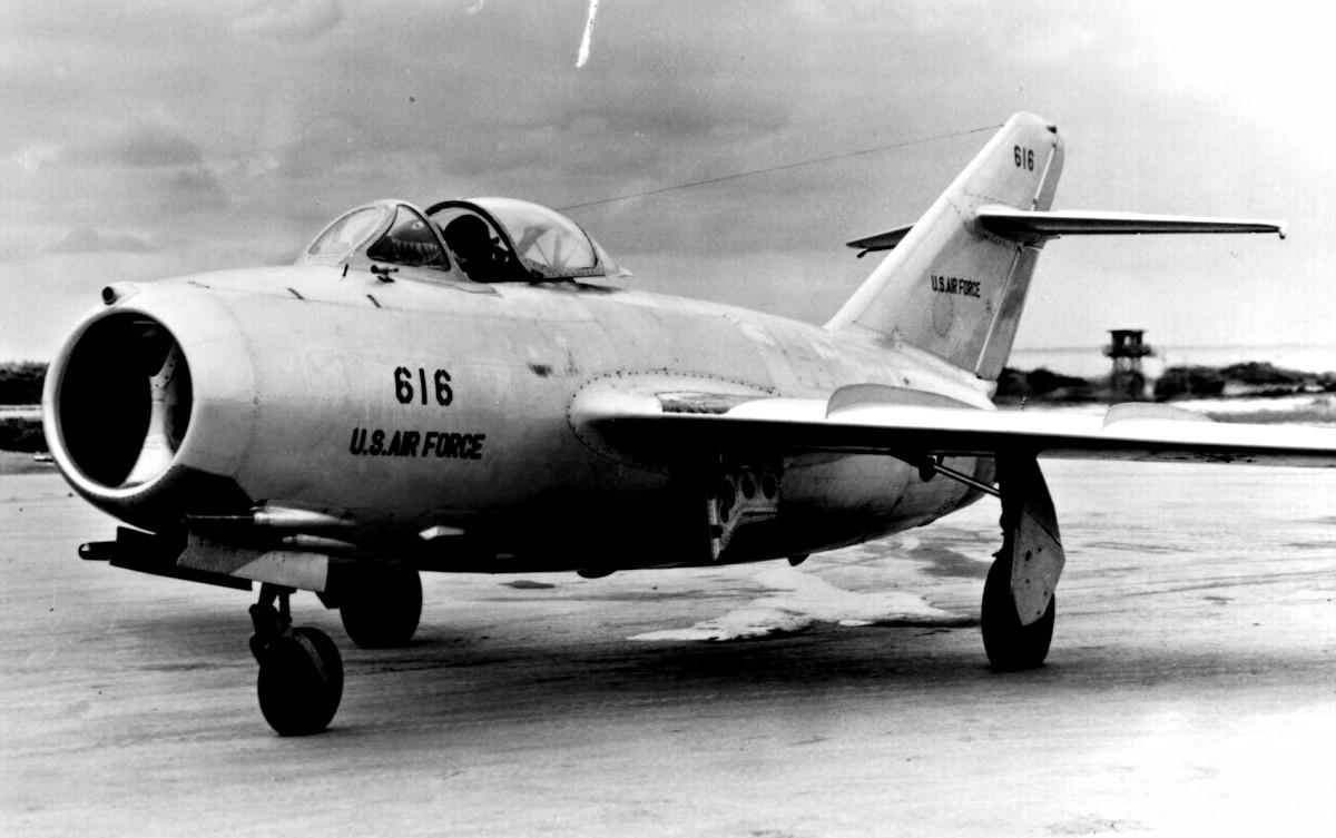Defected MiG-15 No Kum Sok