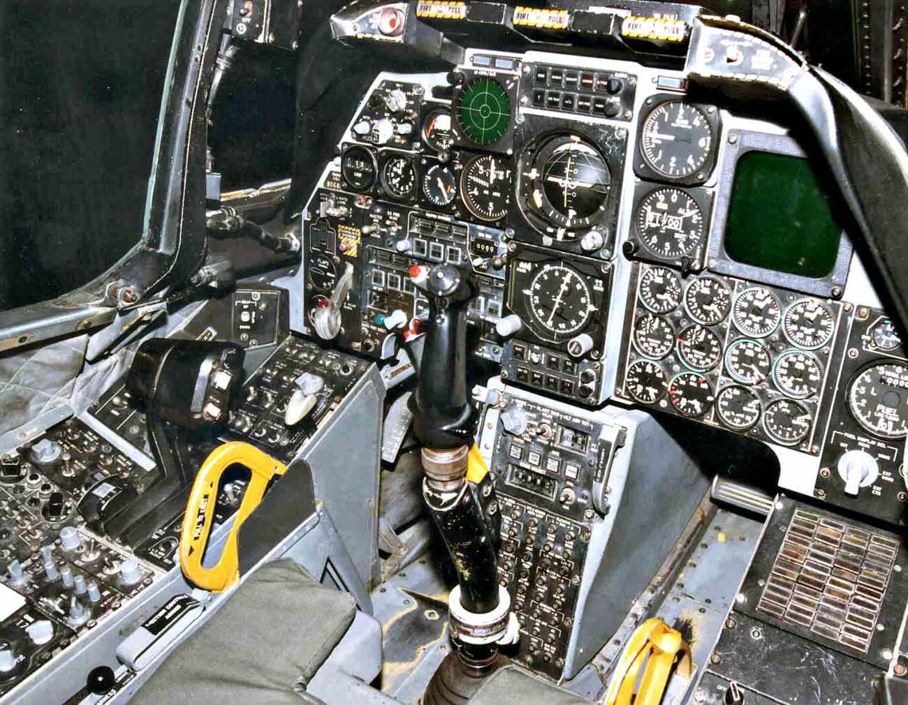 Fighter Jet Cockpit, A-10 cockpit