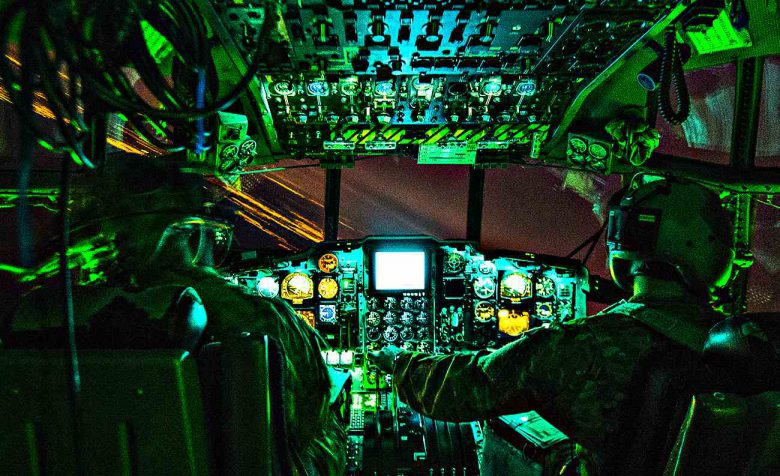 Fighter Jet Cockpit, A-130 cockpit